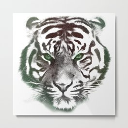 Tiger head Metal Print