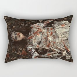 """Dead Leaves"" Rectangular Pillow"