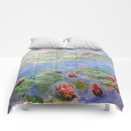 Claude Monet's Water Lilies Comforters