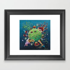 tales 's planet Framed Art Print