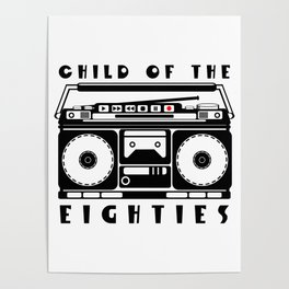 Eighties Music Poster