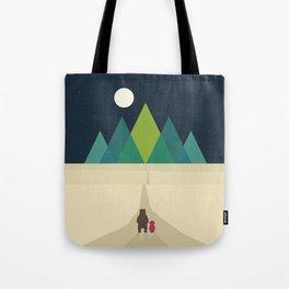 Long Journey Tote Bag