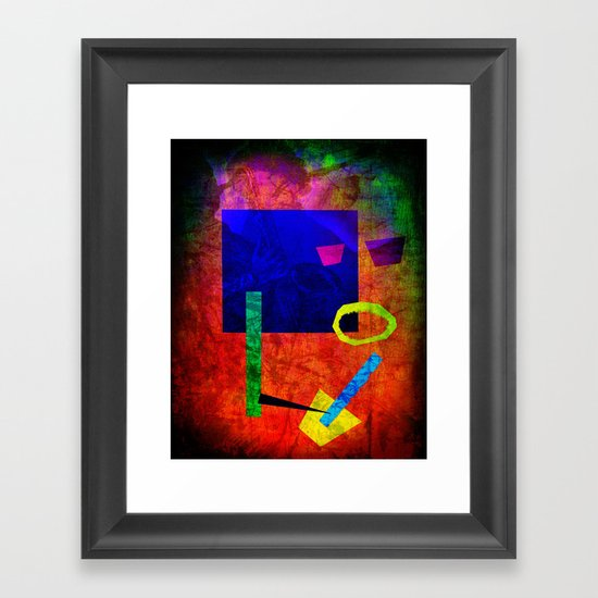 Jazz Bot Framed Art Print