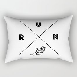 Mercury's Wings Rectangular Pillow