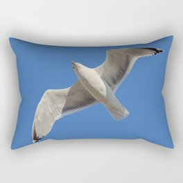 Suddenly Seagull Rectangular Pillow