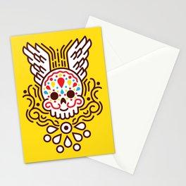 Minimal Skull Stationery Cards