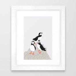 LUNDE Framed Art Print