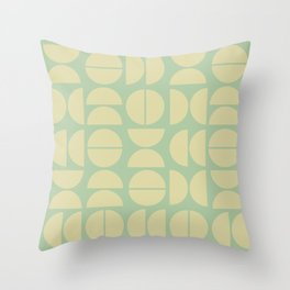 Burano in Lime Throw Pillow