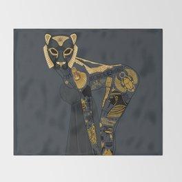 Late Night Egyptian Tales Ep. 4: Sekhmet Throw Blanket