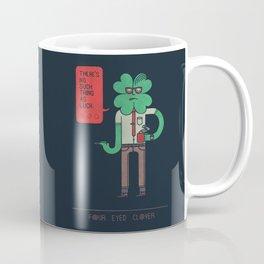 Four Eyed Clover Coffee Mug