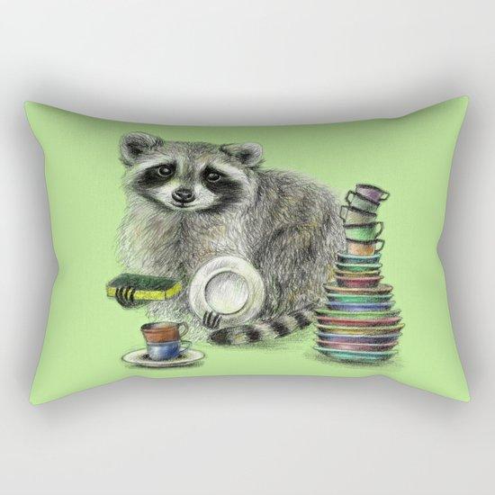 Raccoon Rectangular Pillow
