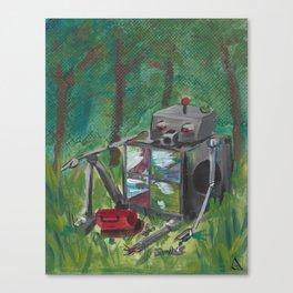 Broken and Lost Canvas Print