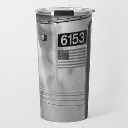 Metro in New York City, USA | City escape | Black and white Travel photography art print Travel Mug