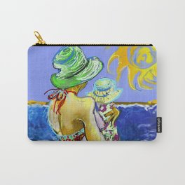 'Mary and Max' (Saw Sea Art Series) Carry-All Pouch