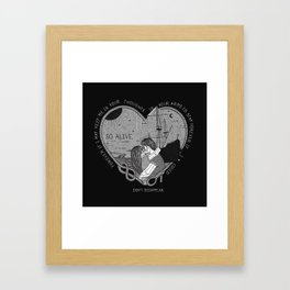 """So alive"" by Ryan Adams Framed Art Print"
