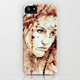 'X'  iPhone Case