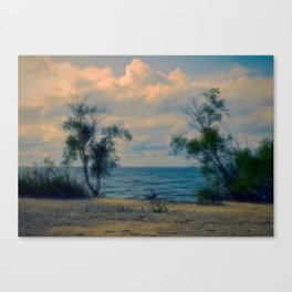 Summer Breezes, Gently Blow Canvas Print