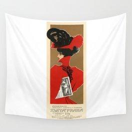 Belle Epoque vintage poster, Zlata Praha Wall Tapestry