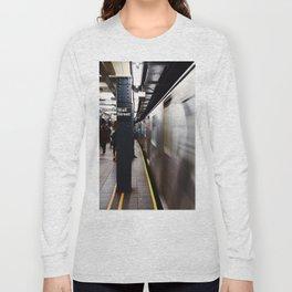 Wallstreet Subway Long Sleeve T-shirt