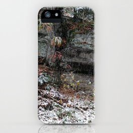 A Fall Day in New England iPhone Case