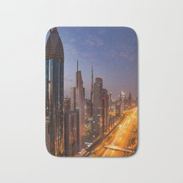Dubai #society6 #decor #buyart Bath Mat