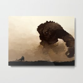 shadow of the colossus Metal Print
