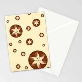 Coffee Flowers Stationery Cards