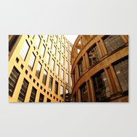 library Canvas Prints featuring Library  by Ethna Gillespie