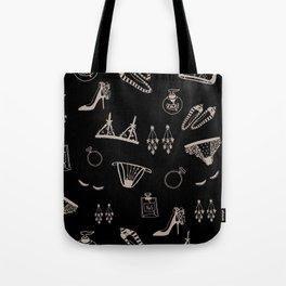 Feminine Accessories Tote Bag