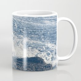 Arctic glacier, rock and icy water Coffee Mug