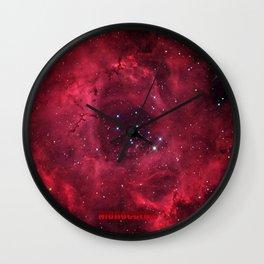 ROSETTA - NEBULA. Wall Clock