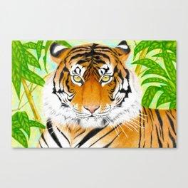 Wild Life - Tiger Canvas Print
