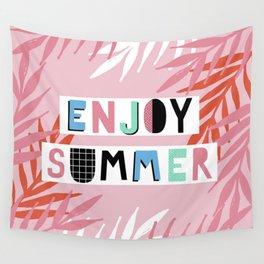 Enjoy summer Wall Tapestry