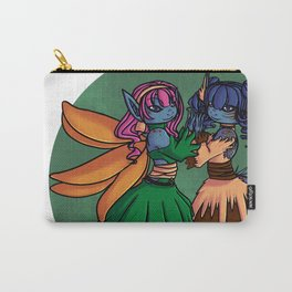 blue sister Carry-All Pouch