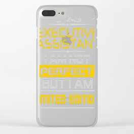 EXECUTIVE-ASSISTANT Clear iPhone Case