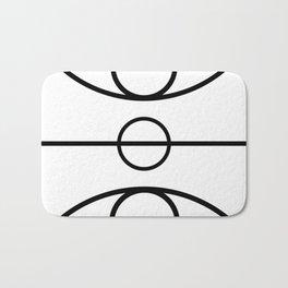 Basketball Court Bath Mat