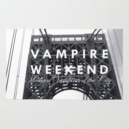 Vampire Weekend / George Washington Bridge Rug