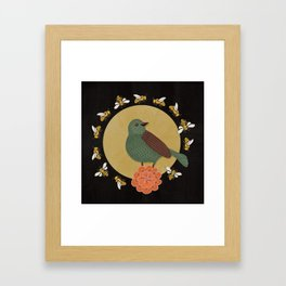 The Bird and the Bees Framed Art Print