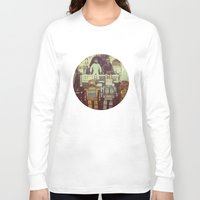robots Long Sleeve T-shirts featuring Robots by GF Fine Art Photography