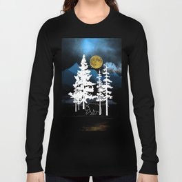 Full Moon Rising II Long Sleeve T-shirt