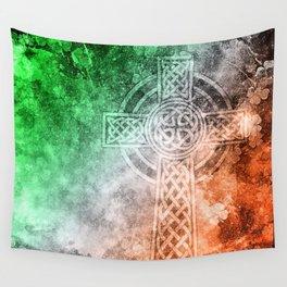 Irish Celtic Cross Wall Tapestry