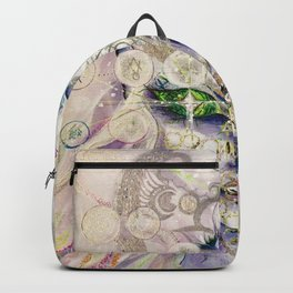 Lemurian Mermaid Queen Backpack
