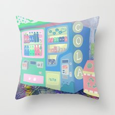 Pop Station Throw Pillow
