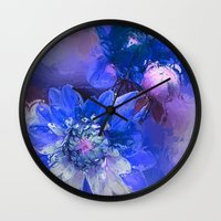 passion Wall Clocks featuring Passion by Bunny Clarke