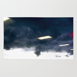 Office Lights in the sky Rug