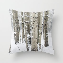 Forest of Serenity Throw Pillow