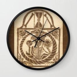 New England Grave Stone Wall Clock