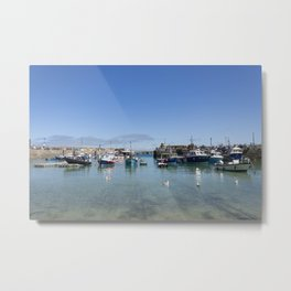 Newquay harbour Metal Print