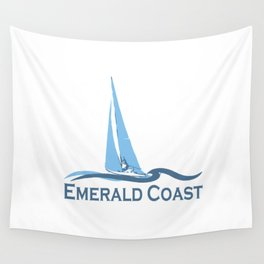 Emerald Coast - Florida. Wall Tapestry