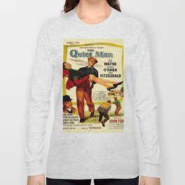 Vintage poster - The Quiet Man Long Sleeve T-shirt